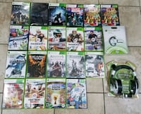 assorted Xbox 360 game cases Newark, 07108