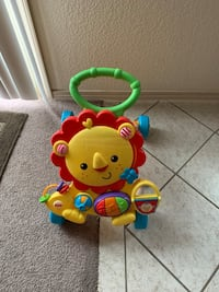 Baby walker aid toy has lights and music El Paso, 79938