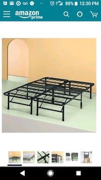 Full metal bed frame Lucketts, 20176