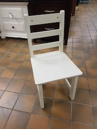 White child's chair $20 plus tax Spring Hill, 37174