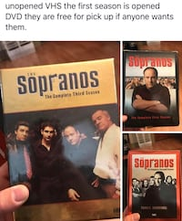 three The Sopranos VHS cases photo collage Springfield, 45504