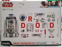 BRAND NEW IN BOX Star Ward droid inventor kit Port Coquitlam, V3B 3V7