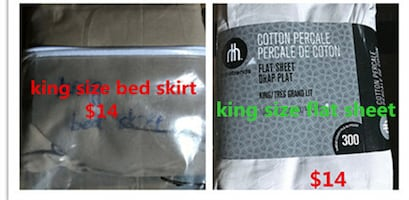Brand new bedding stuff in different size for sale