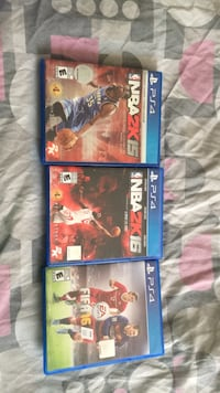 four assorted PS4 game cases Toronto, M1R 1W4