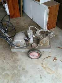 Continuous air compressor (works great)