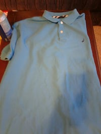 gray polo shirt Woodstock
