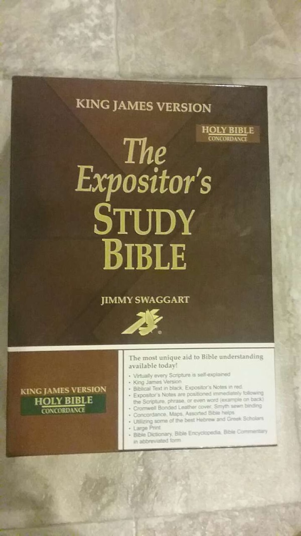 The Empositor's study bible by Jimmy Swaggart