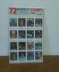 1980s baseball stamp coll in mint cond Modesto, 95351