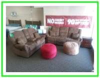 Sofa loveseat and recliners all new 1148 mi
