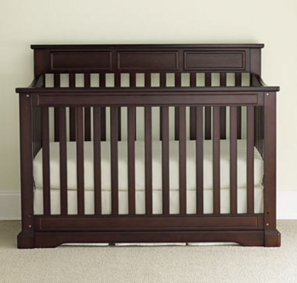 Rockland Hartford Convertible Crib Converts To Toddler Bed And Full Size