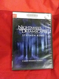 Stephen Kings Nightmares and dreamscapes dvd Baltimore