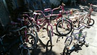 10 kids bikes selling all together Dalton