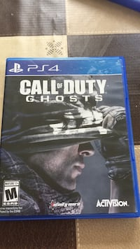 Call of Duty Ghosts barley used  Fairfax, 22030
