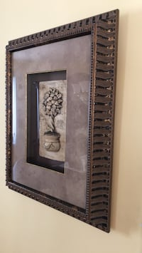 two brown wooden framed wall mirrors Laval, H7X 4E9