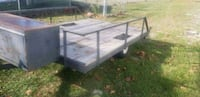 white and black utility trailer Winter Haven, 33884