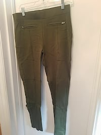 XL Super stretchy army green pants