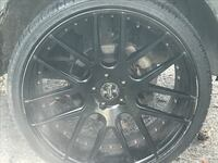 """(4) 22"""" Versante rims with tires null"""