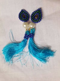 blue and green beaded necklace Jaipur, 302019