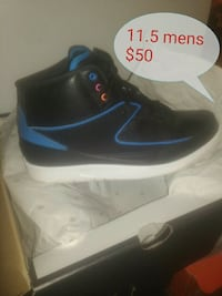 black and blue jordan basketball shoe Knoxville