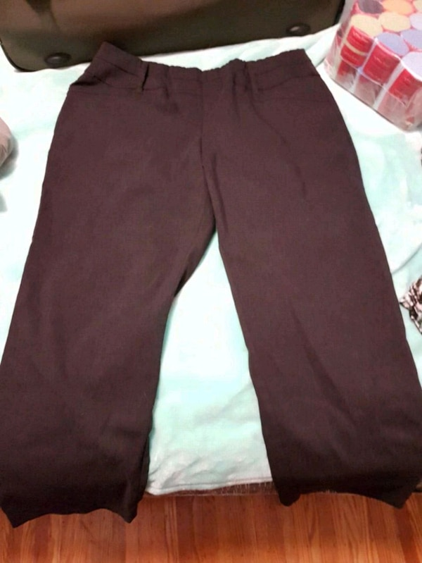 Woman's Black Dress Pants.