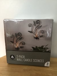 Hometrends 2-pack wall candle sconces box Edmonton, T5R 4B4