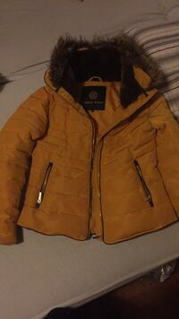 brun zip-up parka Oslo, 1162