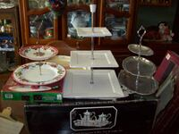 TIERED PARTY PLATTERS X 3 Langley