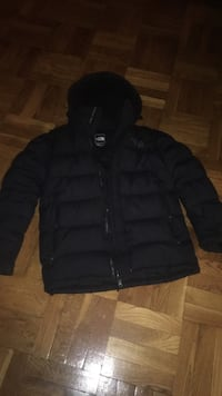 black zip-up bubble jacket Toronto, M9A 3V2