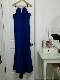 women's blue sleeveless dress Toronto, M9W 2T8