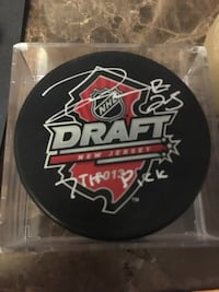 Darnell Nurse Signed/ Autograph Draft Hockey Puck Vaughan, L4H 3T6