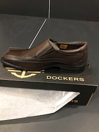 Brand New Brown Dockers Men's work shoes Jessup, 20794