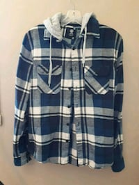 blue and white plaid shirt Laval, H7L 1Z2