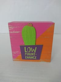 """$2 each  Brand new wooden """"low maintenance"""" decor  Multiple available  Louisville, 40243"""