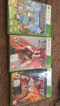 3 Xbox 360 games really good condition  Noblesville, 46060