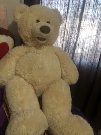white and brown bear plush toy Calgary, T3J 3A6