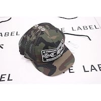 Chrome Hearts Cap Full Camo  Hougang