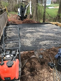 construction for patio