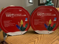 TWO BRAND NEW HOLIDAY LED LIGHT SETS North Dumfries, N0B 1E0