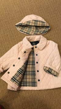 Burberry jacket and hat Gaithersburg, 20879
