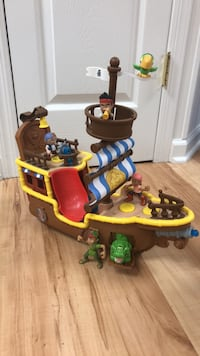 Jake &  the Neverland Pirates Bucky Pirate Ship Randolph, 07869