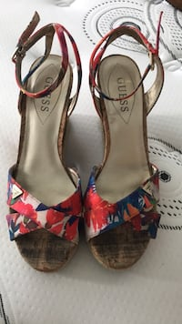 Guess Wedges size nine  Toronto, M6K 3P8