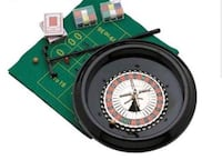 "16"" roulette and blackjack set (no cards included)  San Antonio, 78259"