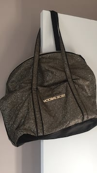 Victoria secret sparkle holiday tote