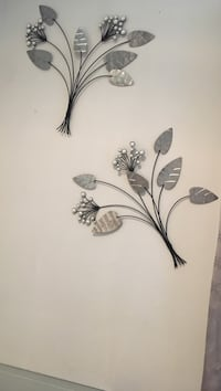 black and white flower wall decor Houston, 77042