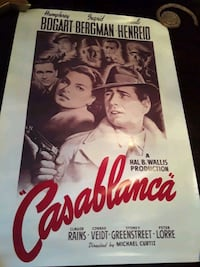 Movie Posters (official) Casablanca  Great Gatsby