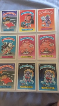 Garbage Pail kids Series 1 to 9 mint condition South Pasadena, 91030