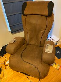 IJoy Turbo 2 Sharper Image Massage Chair Interactive Health Human Touch Robotic