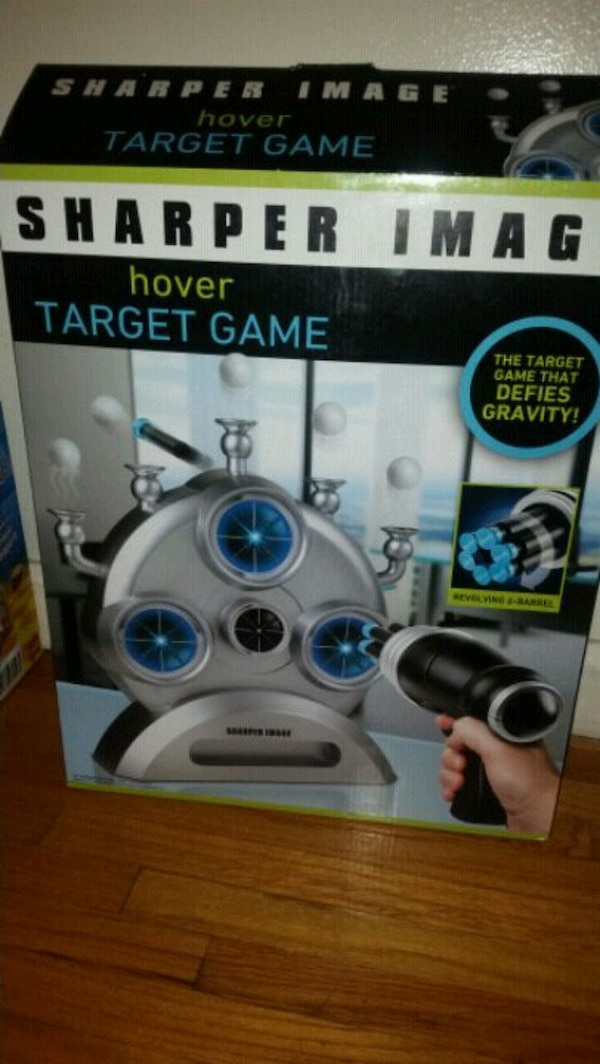 Used White And Black Sharper Image Quadcopter Drone Box For Sale In