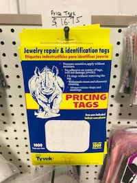 Jewelry repair and identification tags Mississauga, L4X