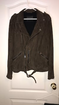 All saints suede biker jacket size small Mississauga, L5M 6K2